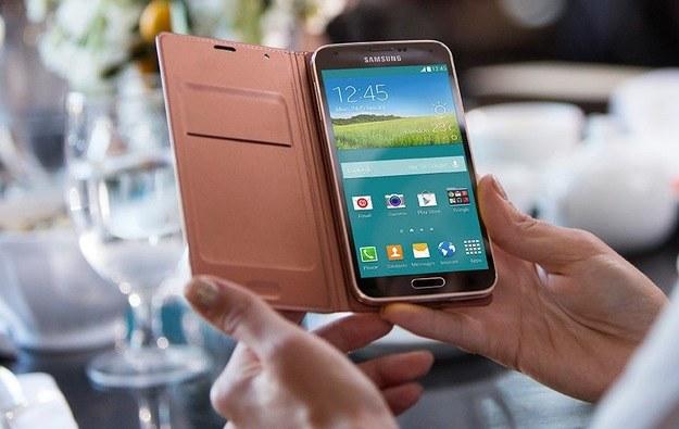 Galaxy S5 zabrakło na liście /materiały prasowe