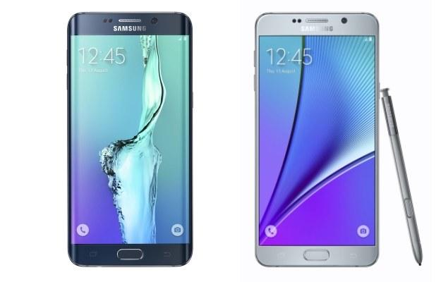 Galaxy S6 edge+ i Galaxy Note5 /materiały prasowe