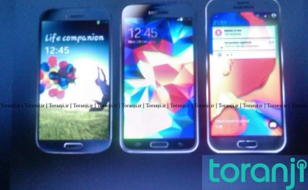 """""""Galaxy S6"""" w towarzystwie poprzedników /materiały prasowe"""