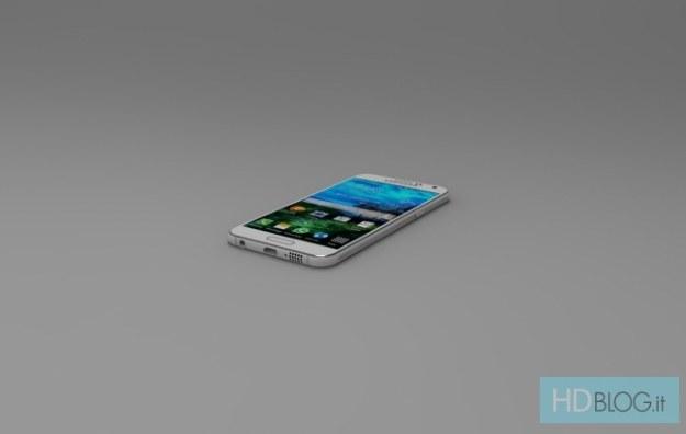 Galaxy S6 - wizualizacja.   Fot. SamsungHDBlog /materiały prasowe