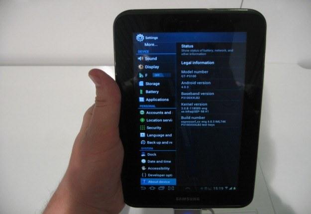 Galaxy Tab2 z ekranem o przekątnej 7 cali i Androidem 4.0 /INTERIA.PL