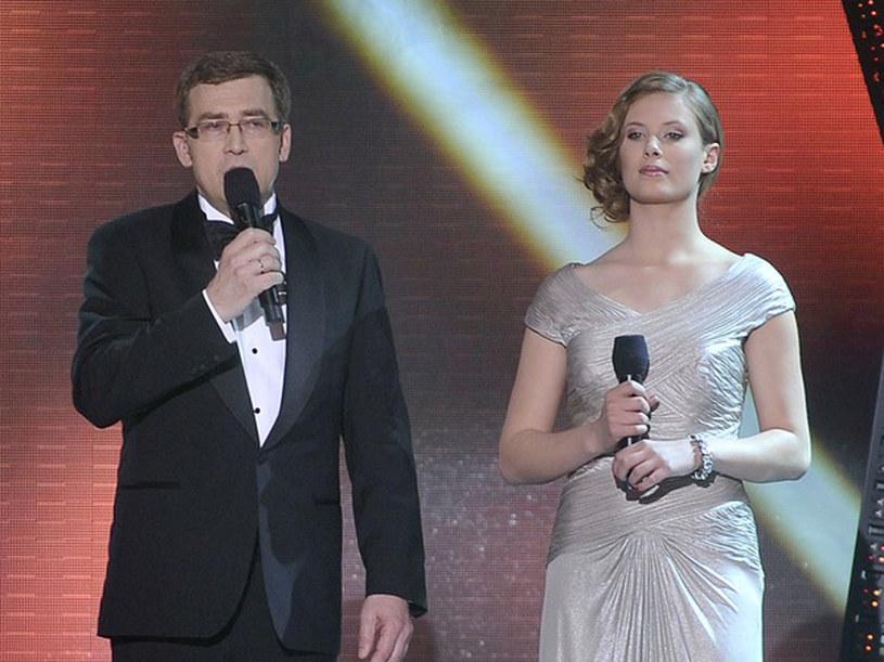 Galę poprowadzili Julia Pietrucha i Maciej Orłoś  /Jacek Kurnikowski /AKPA