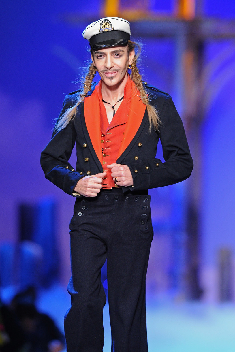 Galliano może się pochwalić wyobraźnią sroki  /Getty Images/Flash Press Media