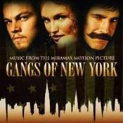 muzyka filmowa: -Gangs Of New York
