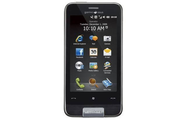 Garmin-Asus Nuvifone M10, czyli połączenie telefonu i nawigacji /materiały prasowe