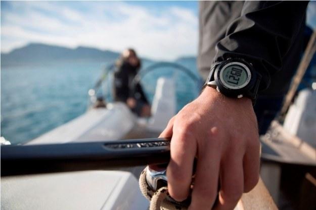 Garmin quatix - zegarek dla żeglarzy /materiały promocyjne