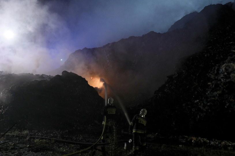 Gaszenie pożaru w Studziankach /Artur Reszko /PAP