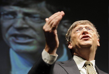 Gates - już nie będzie twarzą promującą Vistę? /AFP