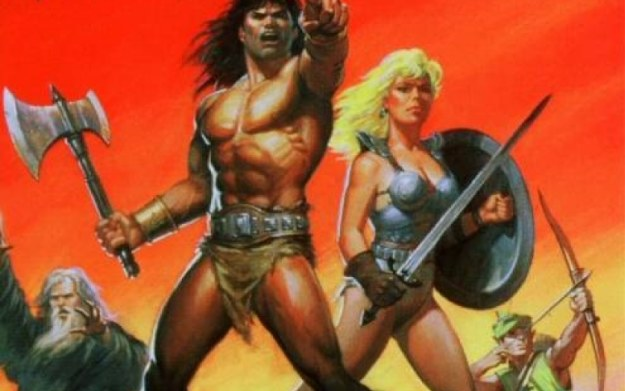 Gauntlet - fragment okładki gry w wersji na konsolę NES /materiały prasowe