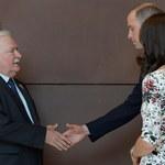 Gdańsk: Książę William i księżna Kate spotkali się z Lechem Wałęsą