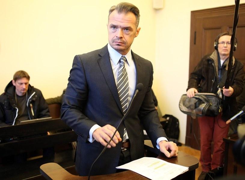 Gdański Sąd Okręgowy - Sławomir Nowak na rozprawie w procesie wytoczonym mu przez Annę Fotygę /Karolina Misztal /Reporter