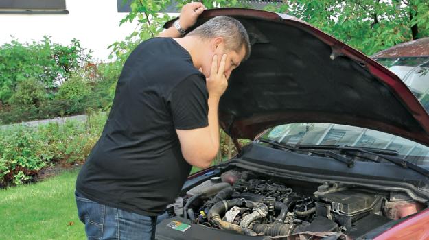 gdy diesel nie zapala /Motor