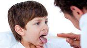 Gdy dziecku dokucza ból gardła