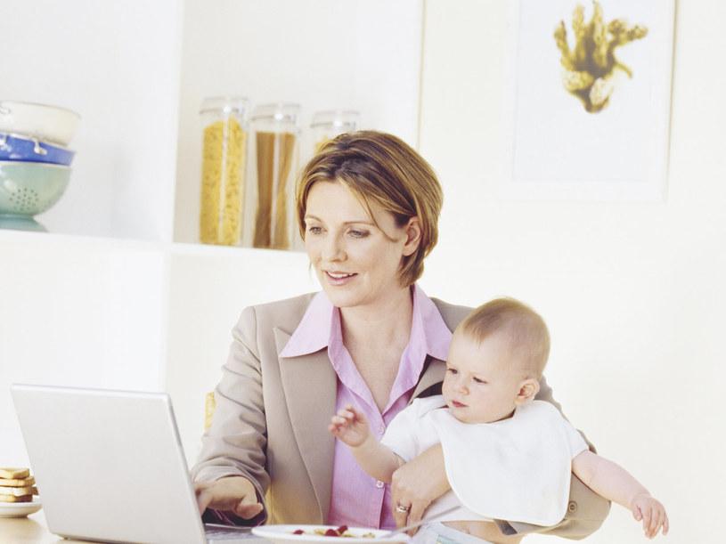 Gdy uda ci się stworzyć miejsce pracy w domu, wszystko będziesz miała pod kontrolą  /© Bauer