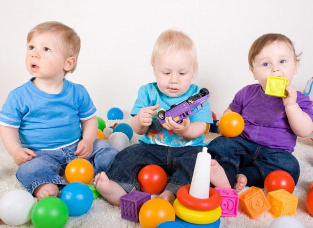 Gdy zabawek jest za dużo, maluch nie wie, co ma wybrać, i trudno mu pokochać jedną lalkę, auto czy misia. /©123RF/PICSEL