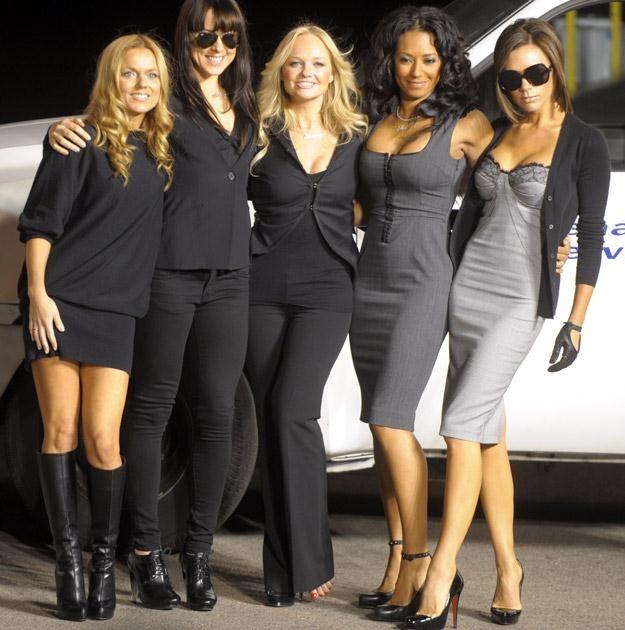 """""""Gdyby Spice Girls były zbyt ładne, dziewczyny nie kupowałyby ich płyt"""" /AFP"""