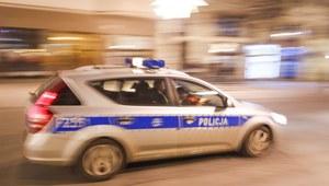 Gdynia: Radiowóz dachował podczas pościgu