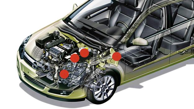 Gdzie znika prąd w samochodzie zimą? /Motor