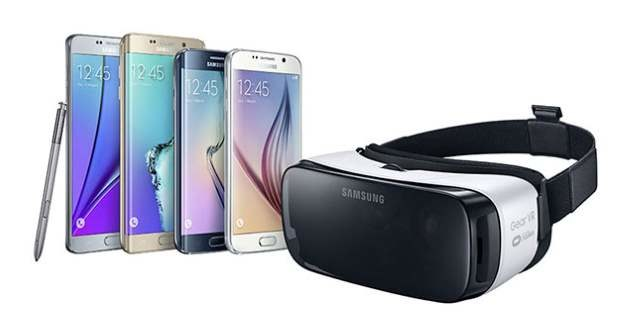 Gear VR w odświeżonej wersji - ma działać z wszystkimi smartfonami Samsunga z tego roku /materiały prasowe