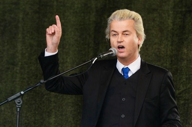 Geert Wilders /ROBERT MICHAEL /AFP