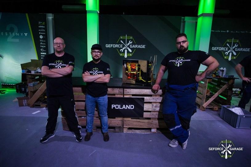GeForce Garage - drużyna polska /materiały prasowe