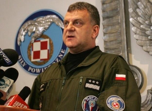 Gen. Andrzej Błasik /Witold Rozbicki /Reporter