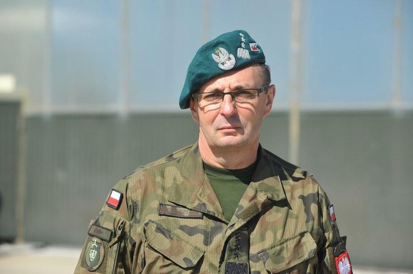 Gen. Tomaszycki - dowódcą sił zbrojnych w czasie wojny /Wojciech Stróżyk /Reporter