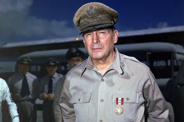 Generał Douglas MacArthur /INTERIA.PL/materiały prasowe