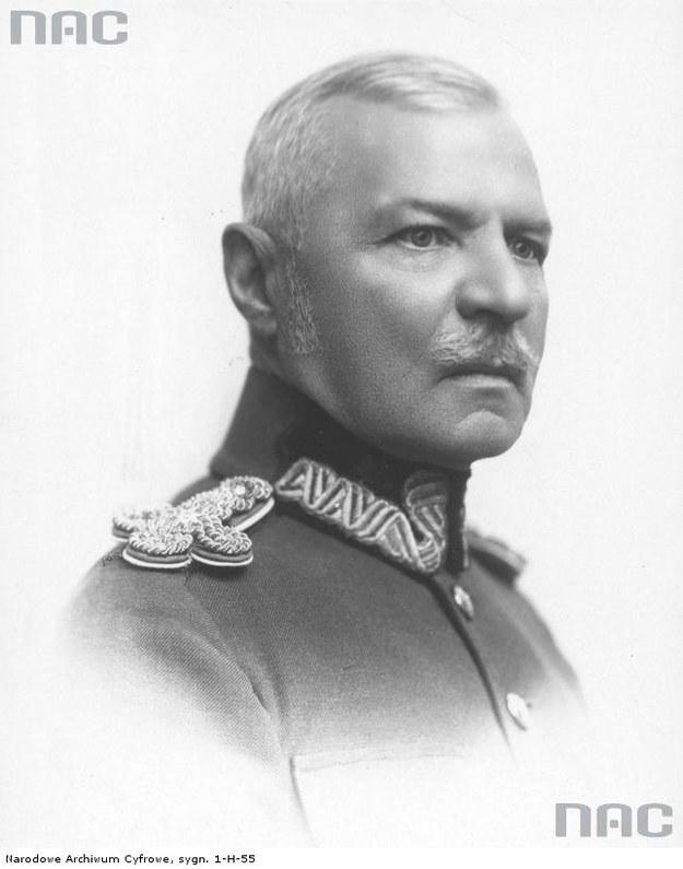 Generał Eugeniusz Dąbrowiecki /Z archiwum Narodowego Archiwum Cyfrowego