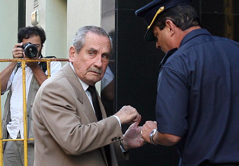 """Generał Gregorio """"Goyo"""" Alvarez stwierdził, że nie żałuje popełnionych zbrodni /Miguel ROJO /AFP"""