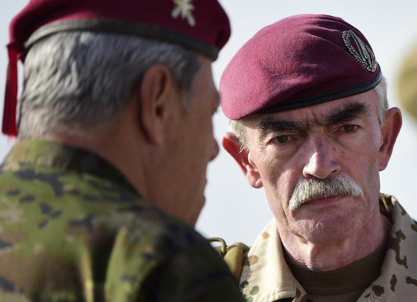 Generał Hans-Lothar Domroese /AFP