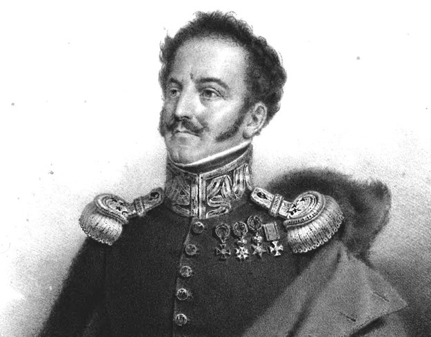 Generał Jan Nepomucen Umiński według Pierre'a Rocha Vignerona /Wikimedia