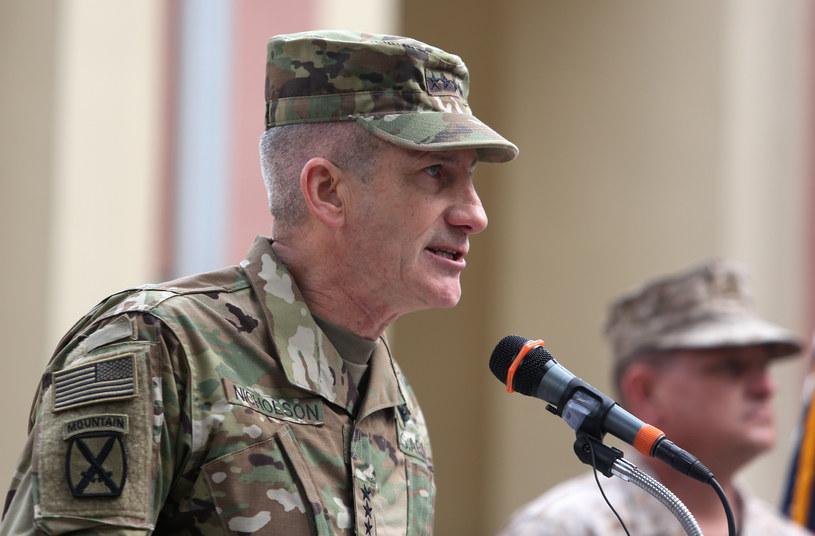 Generał John Nicholson /Rahmat Gul /AFP