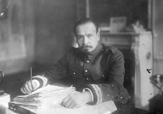 Generał Józef Haller, dowódca II Brygady Legionów, dowódca Armii Polskiej we Francji /Z archiwum Narodowego Archiwum Cyfrowego