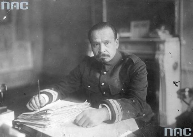 """Generał Józef Haller: """"Meldunki o braku amunicji były powodem mojej decyzji o przerwaniu walki"""" /Z archiwum Narodowego Archiwum Cyfrowego"""