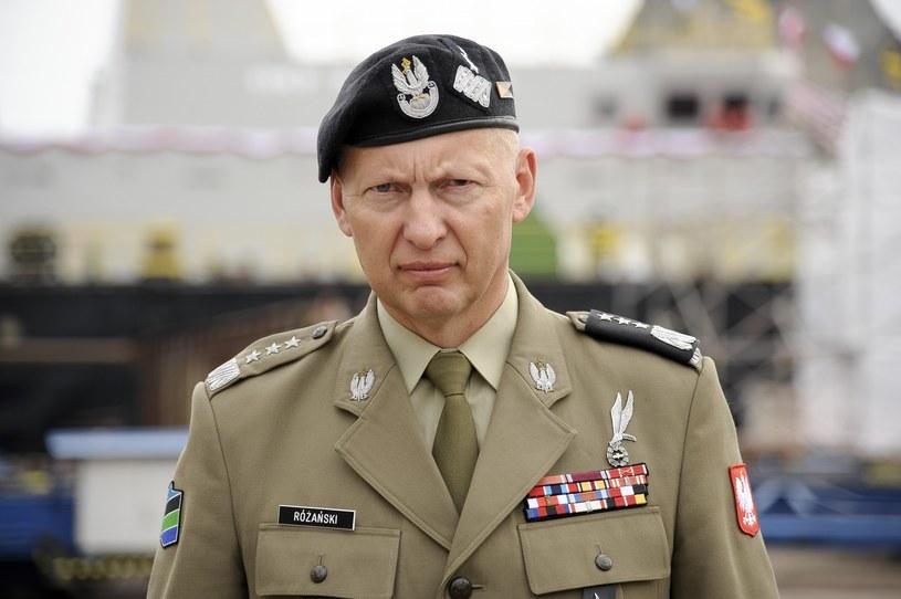 Generał Mirosław Różański /Wojciech Stróżyk /Reporter