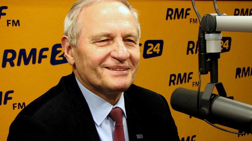 Generał Stanisław koziej, gość Kontrwywiadu RMF FM /Kamil Młodawski /RMF FM