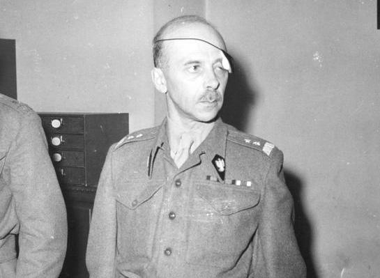 Generał Tadeusz Bór-Komorowski /Z archiwum Narodowego Archiwum Cyfrowego