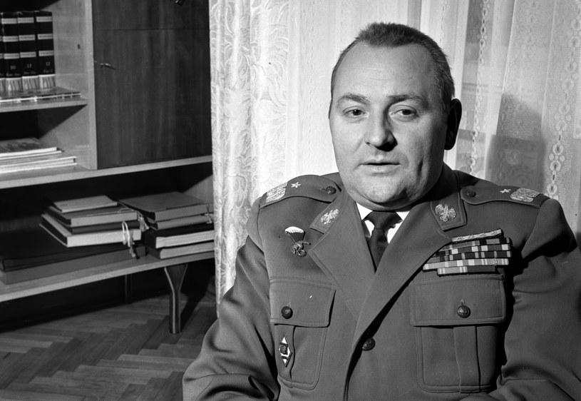 Generał Tadeusz Pietrzak, 1970 r. /Andrzej Marczak  /Agencja FORUM