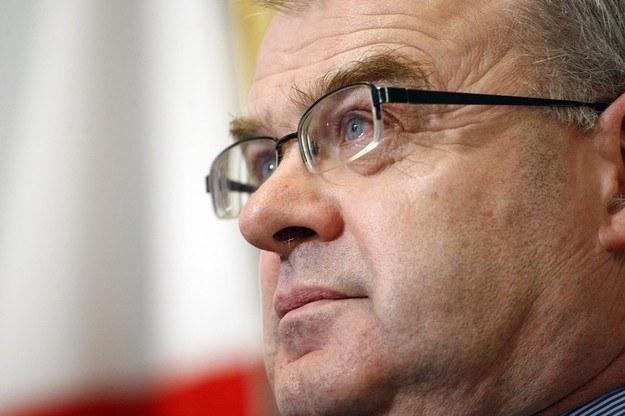 Generał Waldemar Skrzypczak podał się do dymisji. /Adam Guz /Reporter
