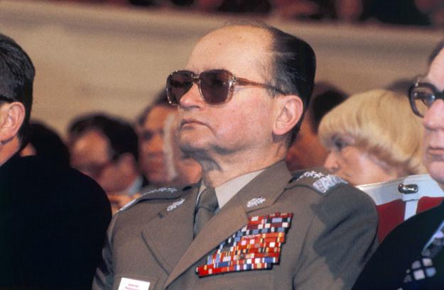 Generał Wojciech Jaruzelski w 1984 roku był I sekretarzem KC PZPR /AFP