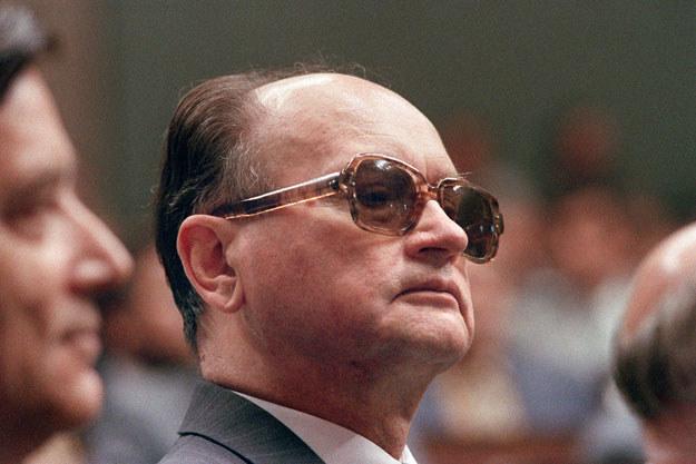 Generał Wojciech Jaruzelski w 1989 roku /AFP