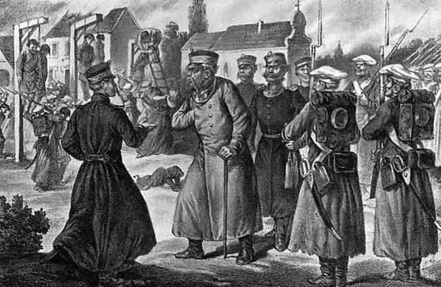 """Generała-gubernator Michaił Murawjow """"Wieszatiel"""" na Litwie /Wikimedia"""