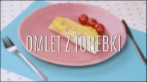Genialny sposób na omlet - zrób go z torebki!