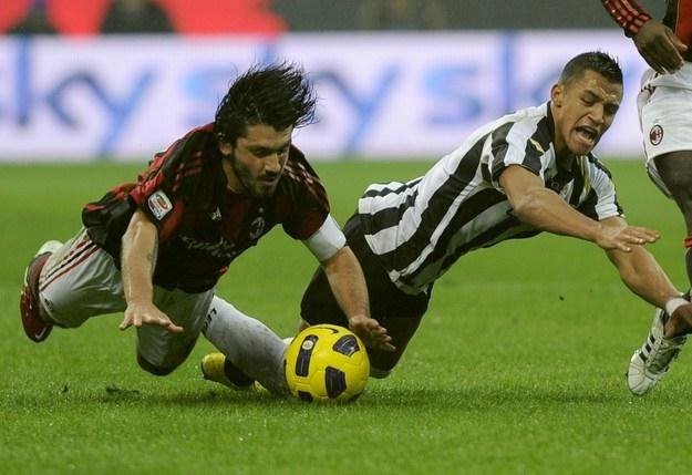 Gennaro Gattuso (z lewej) /AFP