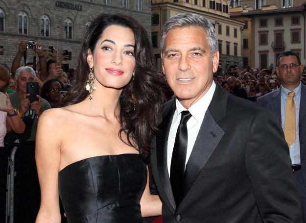 George Clooney i Amal Alamuddin pobrali się we wrześniu /Getty Images