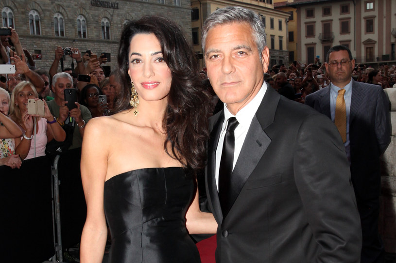 ​George Clooney i Amal Alamuddin /Getty Images