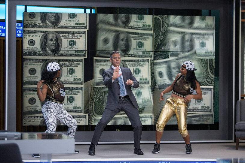 """George Clooney w filmie """"Zakładnik z Wall Street"""" /materiały dystrybutora"""