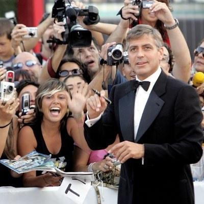 George Clooney w Wenecji /AFP