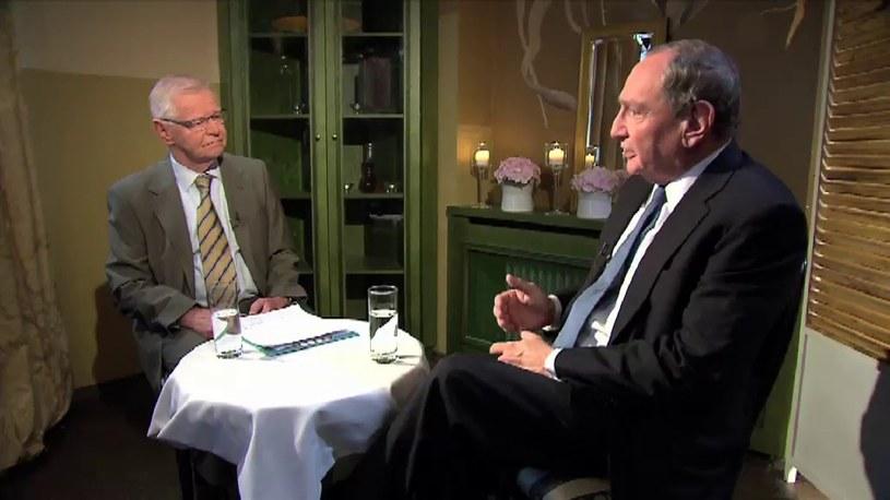 George Friedman uważa, że Polska będzie musiała podejmować decyzje na własną rękę /TVN24/x-news
